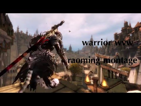 Guild Wars 2 - Warrior Roaming - Scorchblade - смотреть