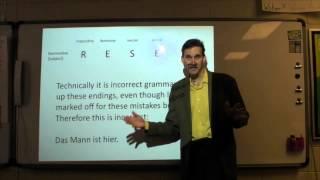 Secret of the German Language Lesson 1