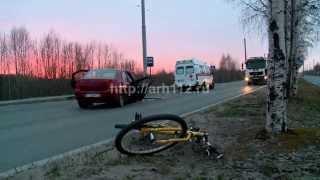 Три человека пострадали в ДТП на Маймаксанском шоссе в Архангельске