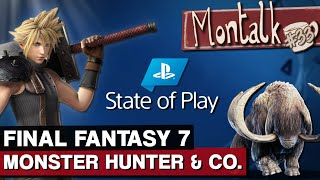 Final Fantasy 7, Monster Hunter: Iceborn, MediEvil & Co.: Alle News der