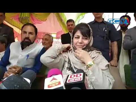 Mehbooba seeks immediate release of JKLF chief Yasin Malik