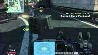 MW3 Carepackage glitch/Knife lunge
