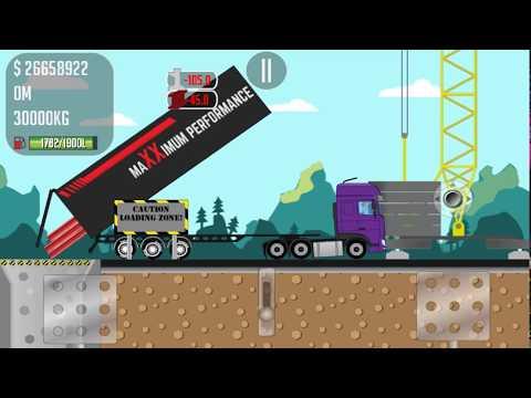 Trucker Joe transports steel beams for construction