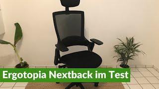 Ergotopia Nextback: Bürostuhl im Test + Aufbau (2021)