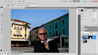 Adding a new background to an image in Photoshop CS5