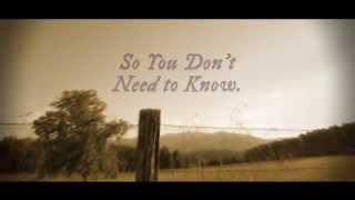 Anthem Lights - The Unknown (Lyric Video)