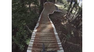 Biking at Mammoth: Smooth operator trail