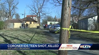 Coroner IDs teen fatally shot on West Broadway