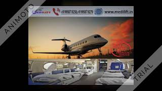 Hire Emergency Air Ambulance Service in Pondicherry with ICU