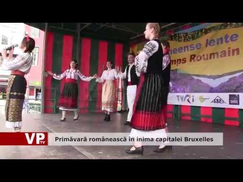 Primăvară românească în inima capitalei Bruxelles