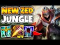ZED IS THE NEW KHA'ZIX! BECOME A TERROR IN THE JUNGLE WITH THE NEW BUFFS - League of Legends