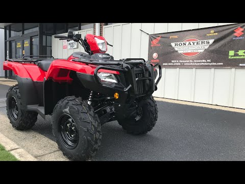 2021 Honda FourTrax Foreman Rubicon 4x4 Automatic DCT in Greenville, North Carolina - Video 1
