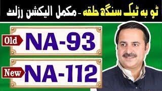 NA-93 (New NA-112) Toba Tek Singh 2 | Pakistan Election Results | Election Box