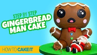 How To Make A Gingerbread Man Cake by La Casa Dolce | How To Cake It Step By Step