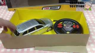 Unboxing TOYS Review/Demos - Fast Furious Remote Control Silver Mini Van with steering wheel control