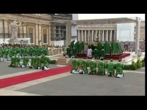 Messe d'ouverture du Synode des évêques pour la nouvelle évangélisation