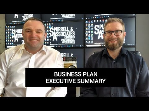 Edmonton Business Consultant | Business Plan Executive Summary