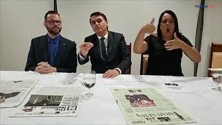 """""""Pague tudo o que deve"""", diz Bolsonaro sobre renovação de concessão da Globo"""