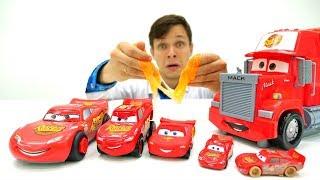 Тачки: #Маквин разделился на маленькие машинки!🚗💨 #ИгрыДляМальчиков в #машинки Веселые гонки