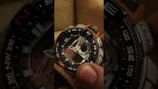 5753d7909e5f2 شرح طريقه ضبط الساعه كاسيو انالوج و ديجيتال casio dual time wr30m