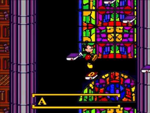 [Sega Genesis] - Mickey's Ultimate Challenge - Get the Book of Spells