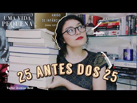 25 LIVROS PARA LER ANTES DOS 25 ANOS
