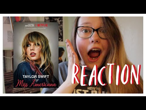 REACTING TO MISS AMERICANA - OFFICIAL TRAILER