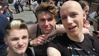 Gay Pride London 2016 Video | RolyVlogs