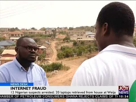 Internet Fraud - News Desk on Joy News (4-4-18)