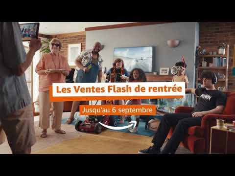 Musique pub Amazon Découvrez les Ventes Flash de rentrée    juillet 2021