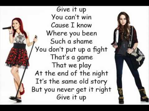 Bad boyz lyrics victoria justice