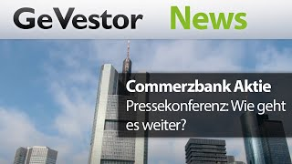 Prinzip Hoffnung – Commerzbank will besser performen