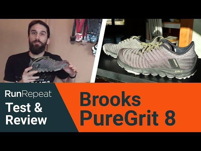 Only $70 + Review of Brooks PureGrit 8