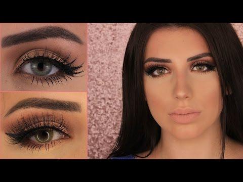 Die BESTEN farbigen Kontaktlinsen EINFACH einsetzen, rausnehmen, Review & Demo