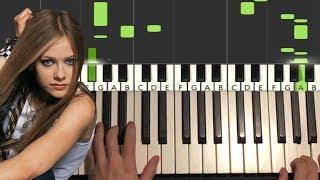 Avril Lavigne - Love Me Insane (Piano Tutorial Lesson)