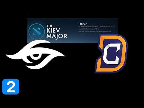 Secret vs DC Game 2  Kiev Major Highlights Dota 2