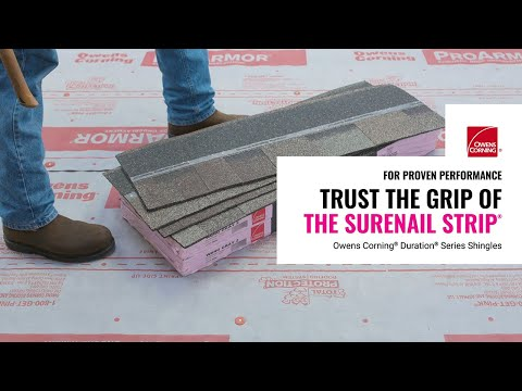 Duration® Series Shingles Nailing Zone Performance | Owens Corning Roofing