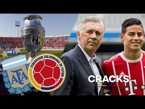ASÍ sera la COPA AMÉRICA COLOMBIA - ARGENTINA | JAMES quiere ENTRENARSE con ANCELOTTI
