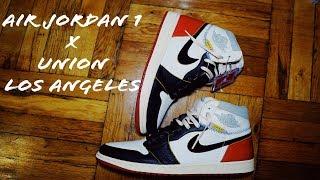 Air Jordan 1 NRG X Union Los Angeles Review & Unboxing Shot in 4K