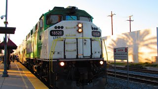 3/28/19 Railfanning El Monte from the late afternoon to late night