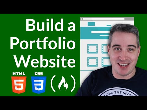 Build and deploy a portfolio website [Full Tutorial Course]
