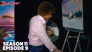 Bob Ross - Winter Barn (Season 11 Episode 9)