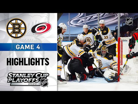 NHL Highlights | First Round, Gm4: Bruins @ Hurricanes – Aug. 17, 2020