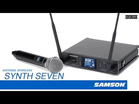 samson synth 7 sistema sem fio microfone de m r em mercado livre. Black Bedroom Furniture Sets. Home Design Ideas