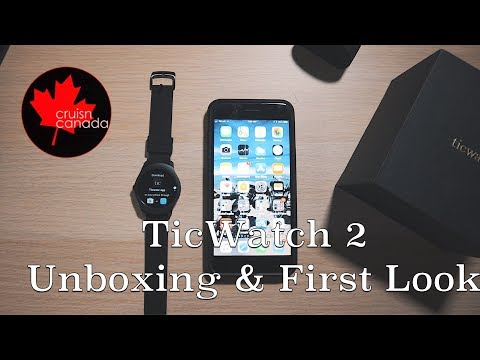 Mobvoi Ticwatch 2 Unboxing and Setup