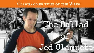 """Clawhammer Banjo: Tune (and Tab) of the Week - """"The Ballad of Jed"""""""