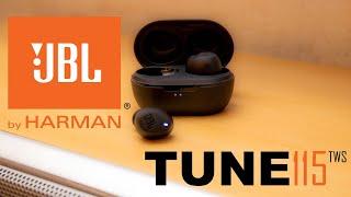 JBL Tune 115 TWS | Bluetooth Kopfhörer | True Wireless | Deutsch