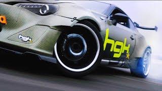HGK GT86 RHINO FIRST TIME DRIFTING