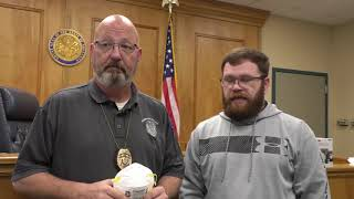 Osceola Police Department Receive a Great Gift