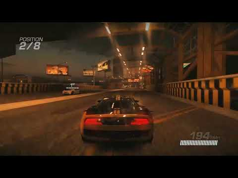 Ridge Racer Unbounded PS3 gameplay